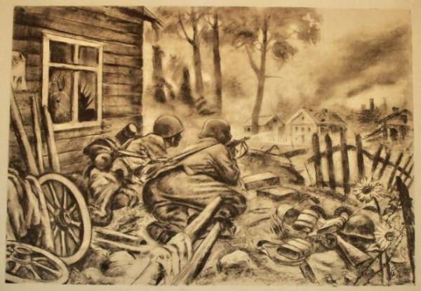 Pencil War Drawings (44 pics) - Izismile.com
