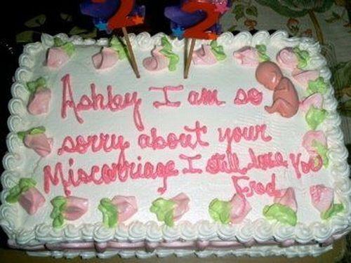 Worst Birthday Cakes Ever 24 Pics Picture 12