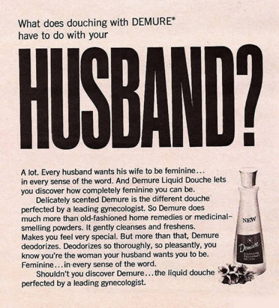 Very Sexist Ads from the 50's (24 pics)