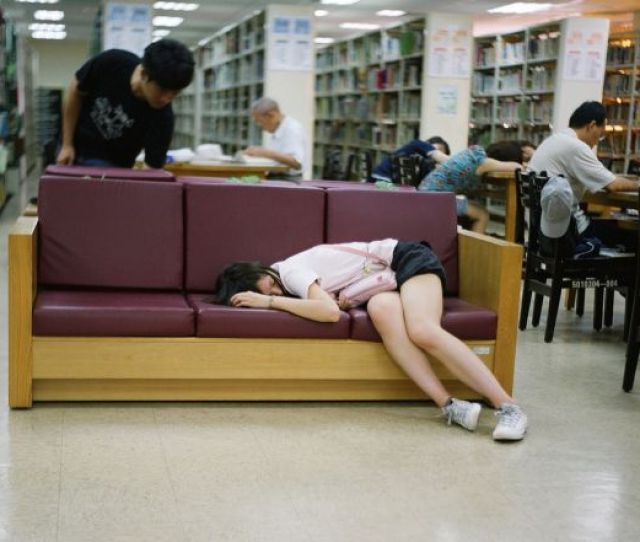 1 Sleeping In The Library