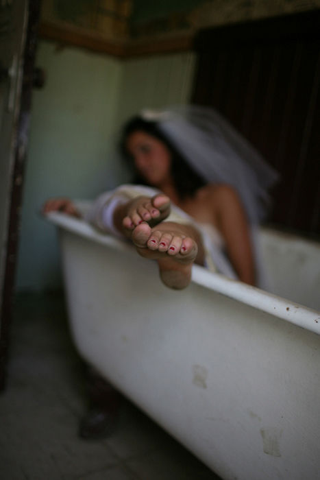 Extreme and Wet Wedding Photography