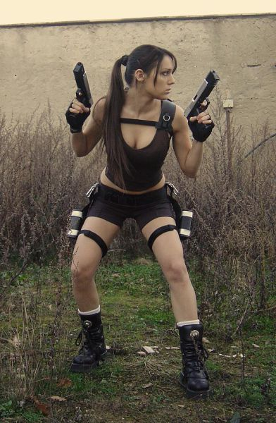 Lara Croft IRL