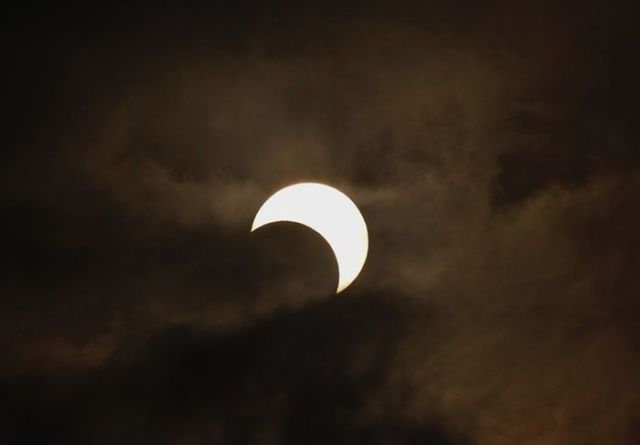 Beautiful Annular Solar Eclipse Photos