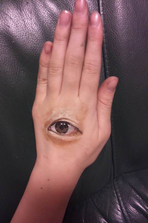 Strange Optical Illusion Body Art
