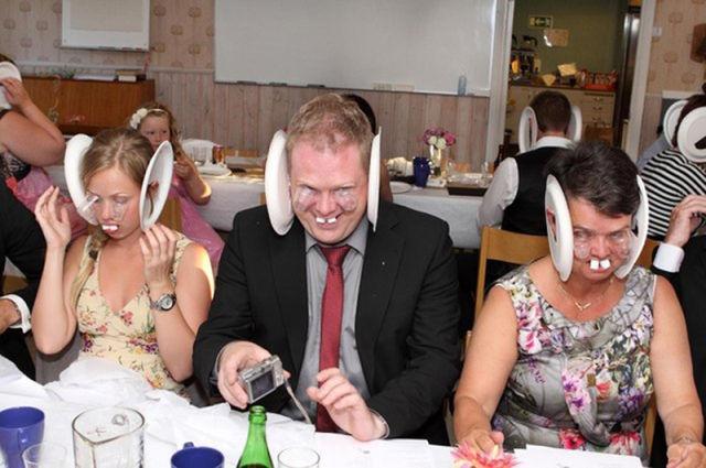 Partying Hard at Swedish Wedding