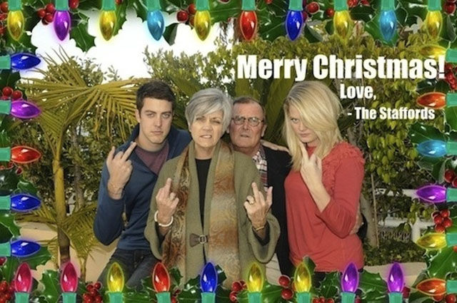 How To Impress With Your Family Christmas Card 31 Pics