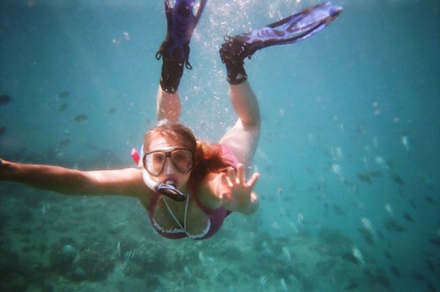 Girl Experiences a Scary After-Effect from Scuba Diving