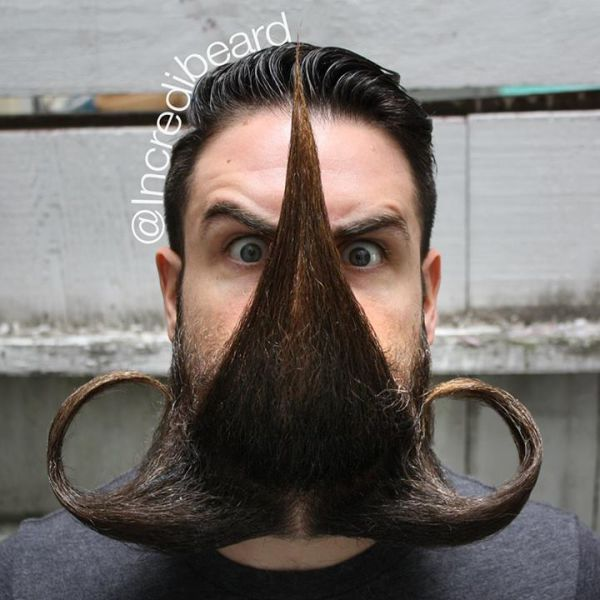 This Mans Beard Can Do Crazy Things 22 Pics