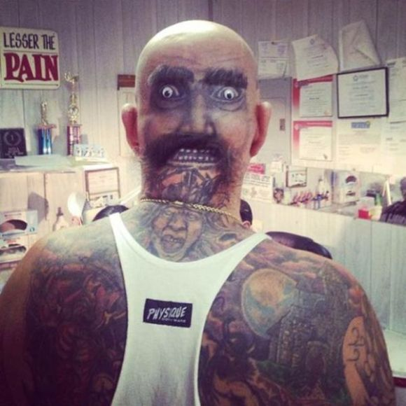 Tattoos That Are Beyond Creepy