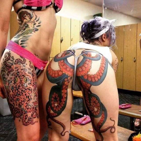 1 Hot And Hardcore Tattooed Girls