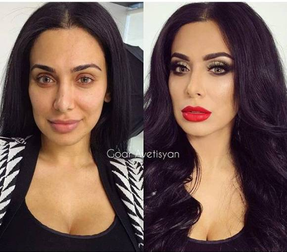 Reasons Why You Should Never Trust A Girl With An Over-The-Top Makeup