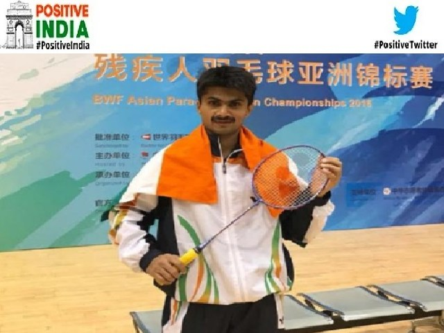Positive India: Noida DM selected in Tokyo Paralympics;  The first IAS of the country to do so