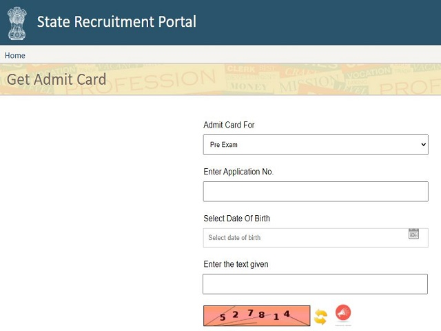RPSC SI Admit Card 2021 Out