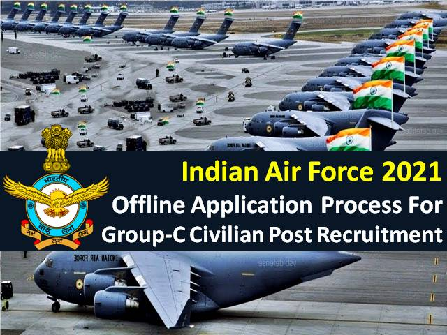 Check How to Apply for 1524 Group C Civilian Posts, Filled Forms to be sent by Post