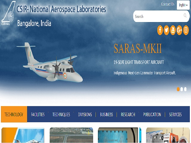 NAL Recruitment 2021 for Technical Asst/Officer & Other Posts, Apply Online @ nal.res.in