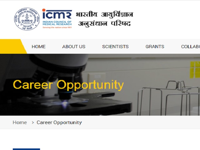 ICMR NIV Recruitment 2021 for Technical Assistant, MTS and other @main.icmr.nic.in, Apply till Apr 16