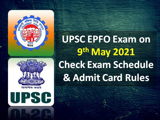 Check Exam Schedule & Admit Card Rules