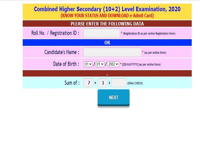 SSC ER CHSL Admit Card 2021 Out @sscer.org, Download Tier 1 Eastern Region Call Letter Here