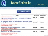 Apply Online for 55 Teaching Posts till 16 March