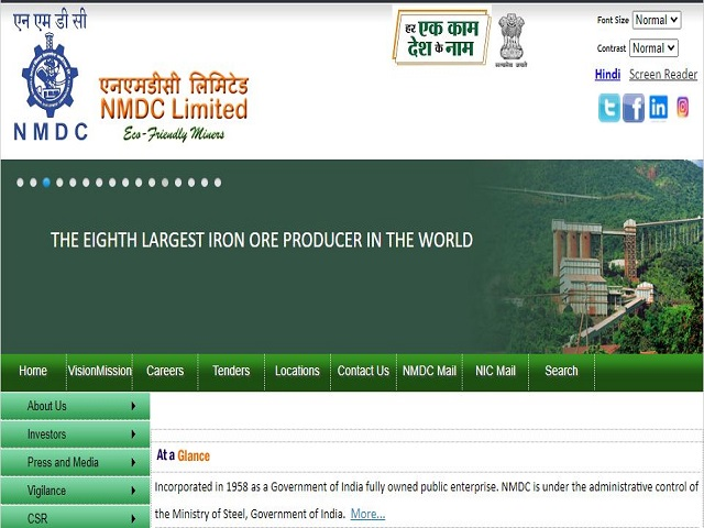 NMDC Recruitment 2021 for 224 Executive and Non Executive Posts, Apply Online @nmdc.co.in