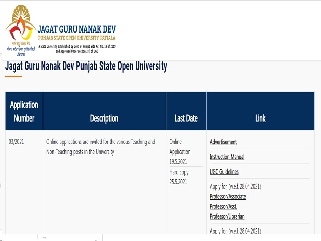 Jagat Guru Nanak Dev University image