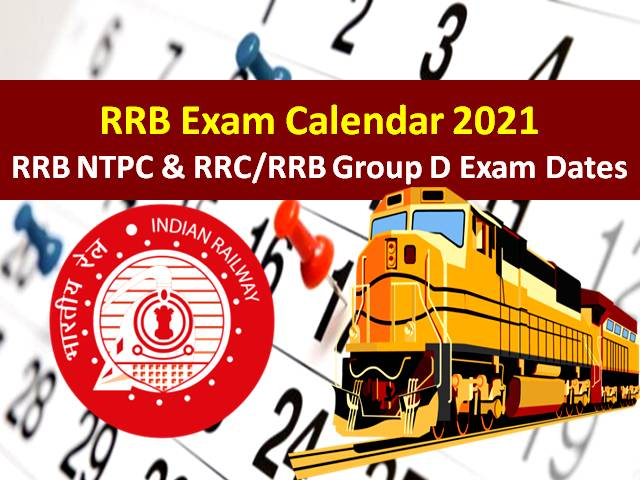 Check Postponed Dates of RRC/RRB Group D 2021 Exam, RRB NTPC 2020-21 CBT-2 Exam