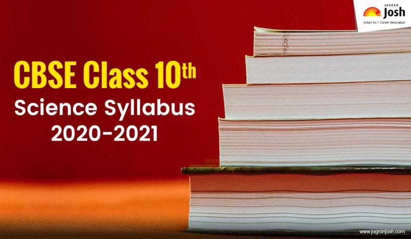 Josh article cbse class 10 science syllabus
