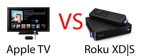 Apple TV vs. Roku XDS