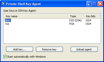 Private Shell SSH Key Manager