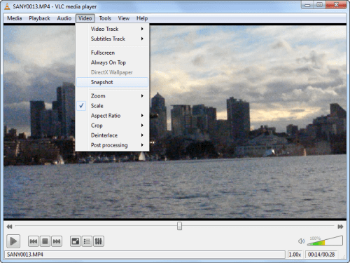 Get still photos from any video