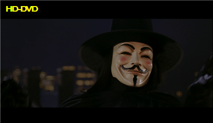 HD-DVD V for Vendetta Screen Grab