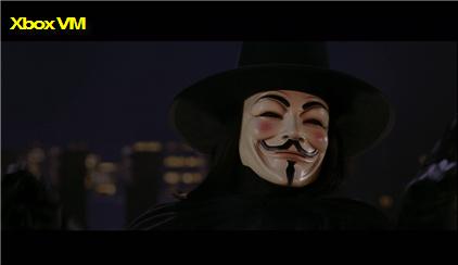 Xbox Video Marketplace V for Vendetta Screen Grab