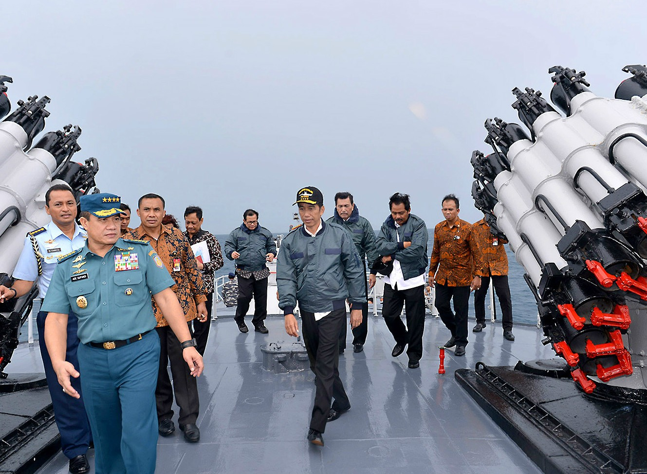 Indonesia reinforces its command over Natuna waters through military bases