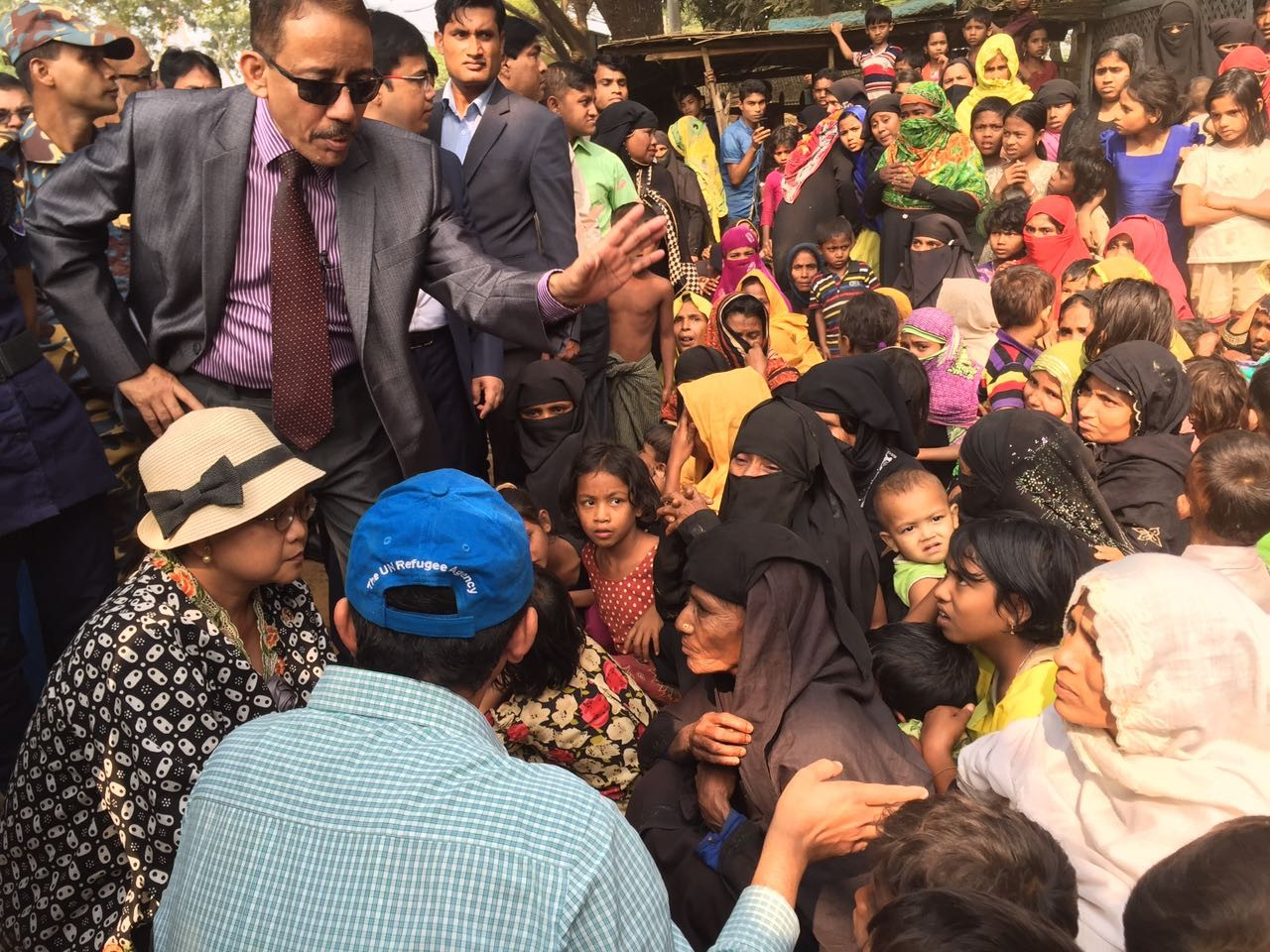 Indonesian FM soaks up Rohingya crisis in Cox's Bazar