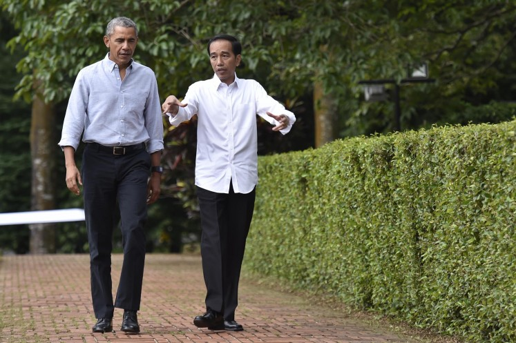 Bogor marathon runners to pass through 'Obama-Jokowi track'