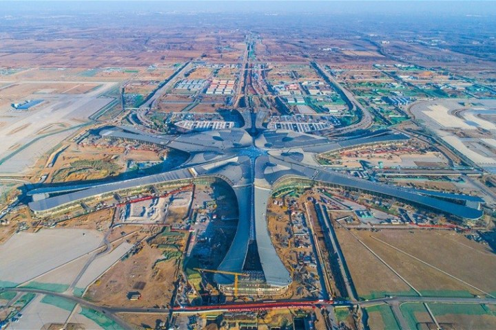 Date announced for opening of new Beijing airport   News   The     Date announced for opening of new Beijing airport