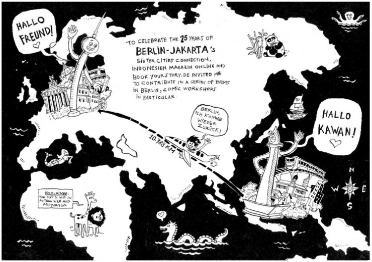 From Jakarta to Berlin: Comic artist Sheila Rooswitha Putri chronicles her journey from Indonesia to Germany.