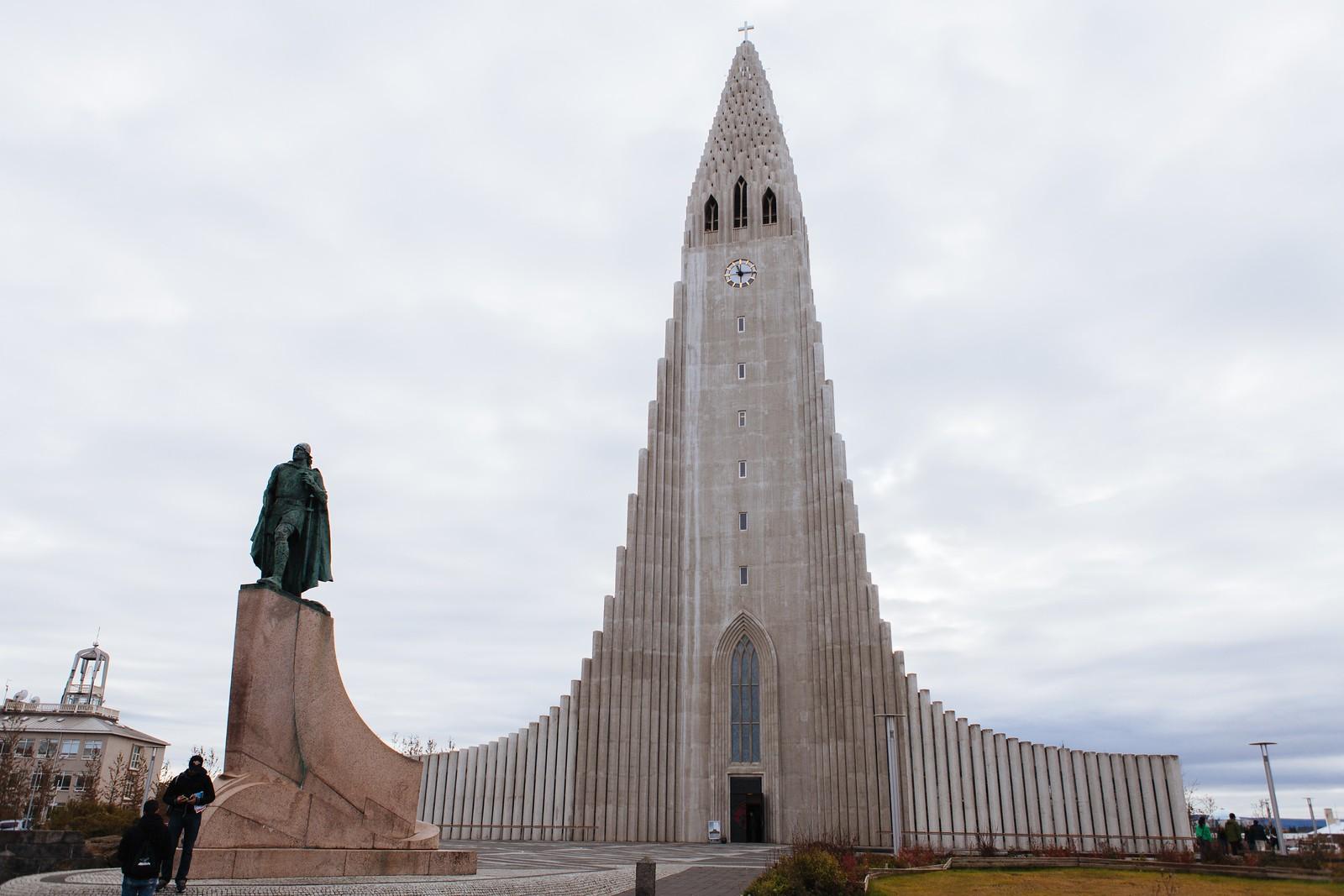 【北歐自助旅行】Day 6(哈爾格林姆教堂、阿克雷裡大教堂、高莎瀑布)