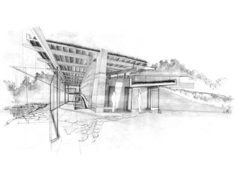 029建築設計師手稿作品