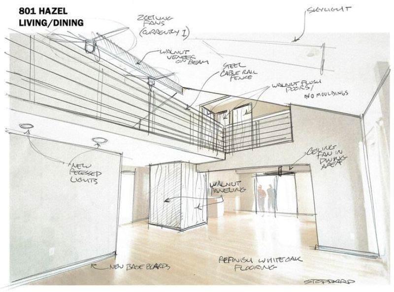 043建築設計師手稿作品