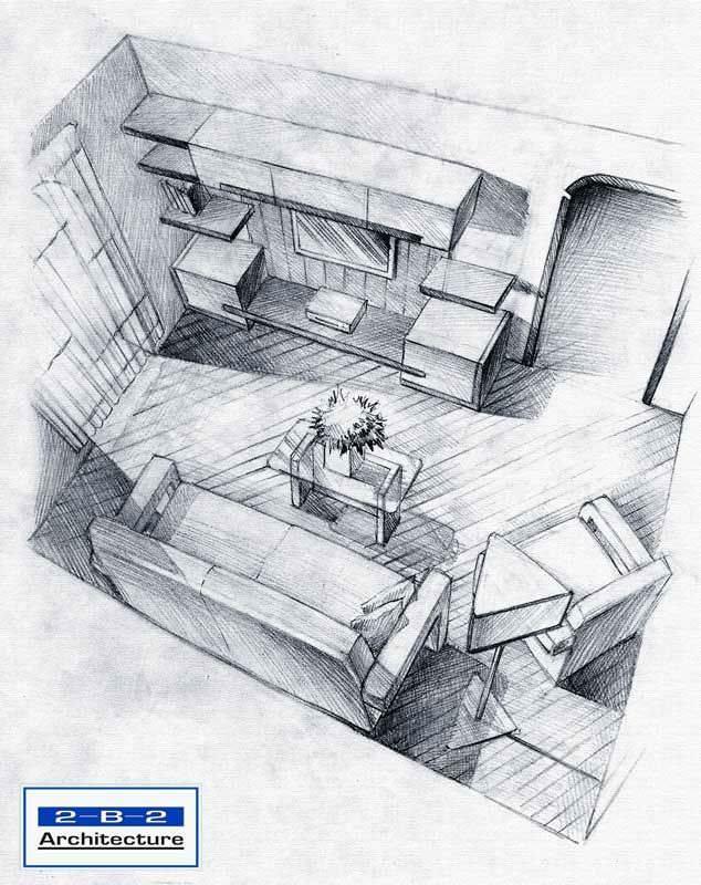 062建築設計師手稿作品