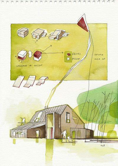 075建築設計師手稿作品