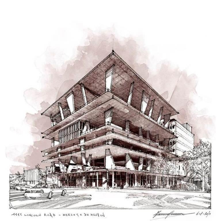 358建築設計師手稿作品