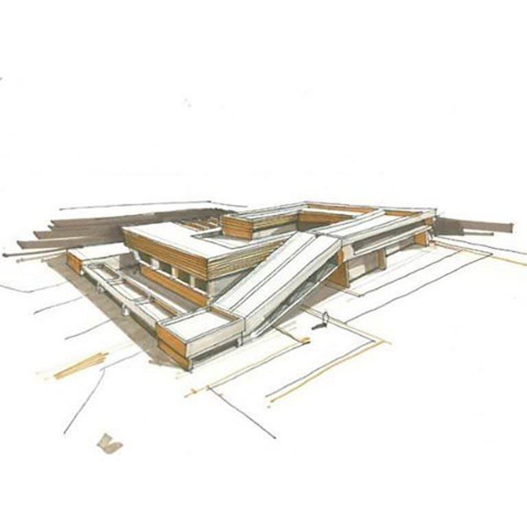 388建築設計師手稿作品