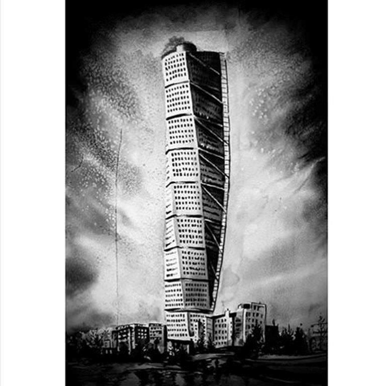 421建築設計師手稿作品