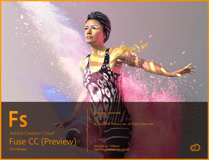 Adobe Fuse CC (Preview)