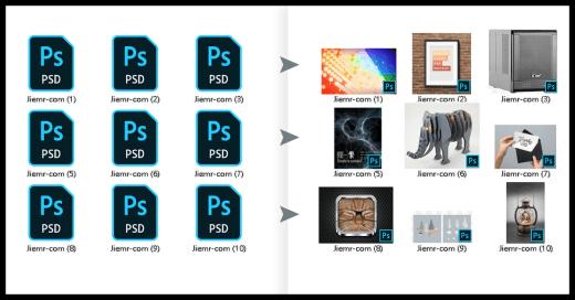 PSD檔案縮圖正常顯示