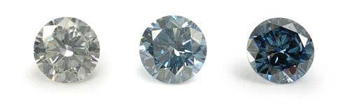 骨灰鑽石顏色