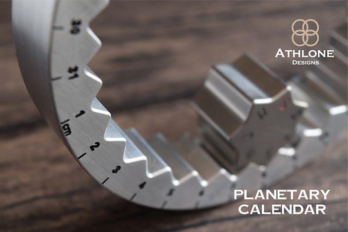 環狀金屬萬年曆齒輪