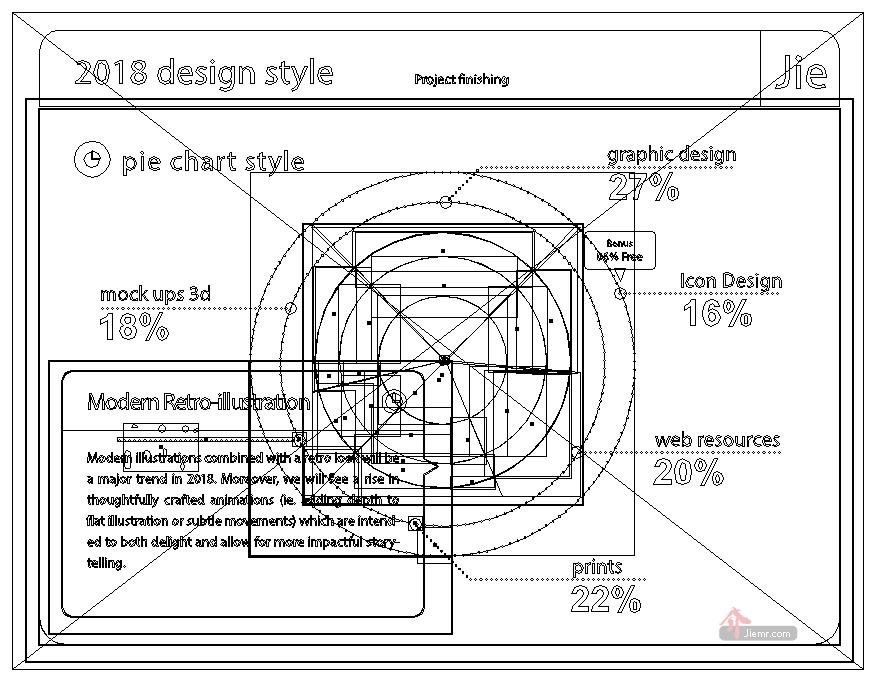 illustrator文字外框線